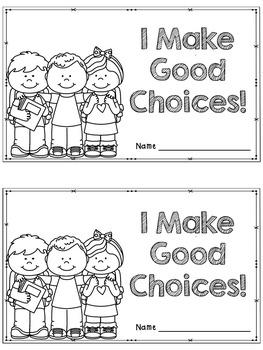 Making Good Choices Mini Unit
