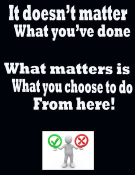 Making Good Choices Poster