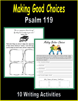 Making Good Choices (Psalm 119)