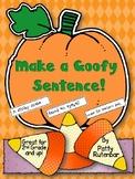 Making Goofy Sentences - Halloween