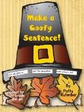 Making Goofy Sentences - Thanksgiving