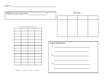 Making Graphs Resources