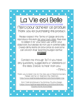 Making Groups - Formation des Groupes