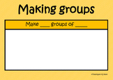 Making Groups Game - TeachLearnCreate
