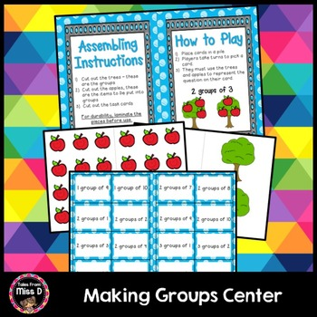 Making Groups - Multiplication