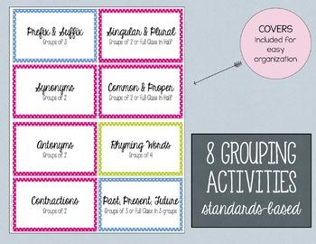Making Groups & Practicing Skills
