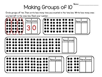 Making Groups of Ten