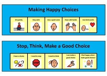 Good Choices Social Story
