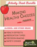 Healthy Choices: Medicine Safety Activity Bundle