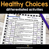 Health Activities - Making Healthy Choices (Digital & PDF)