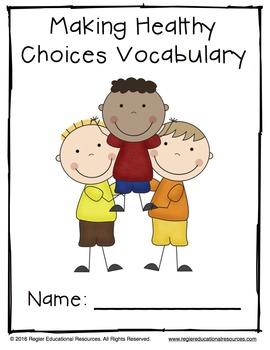 Health | Health and Wellness | Healthy Choices | Healthy Habits | Vocabulary