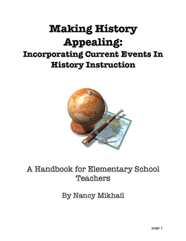Making History Appealing: Incorporating Current Events in