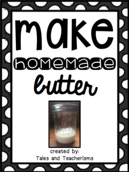 Making Homemade Butter Experiment: Studying Liquids Changing into Solids!