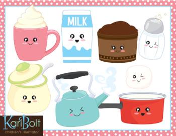Making Hot Chocolate Clip Art