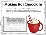 Making Hot Chocolate!  {Money/Coin Identification Game}