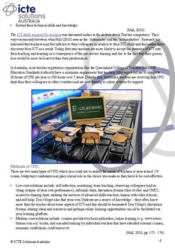 Making IT Happen: Effective Professional Development in ICT for Teachers