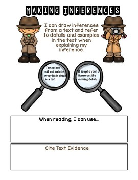 Making Inferences Interactive Notebook