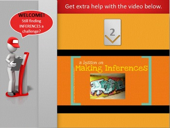 Inference Making - How to Make Inferences Interactive Powerpoint Animated