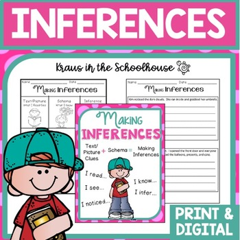 Inferences - Comprehension Reading Skill Practice for Making Inferences