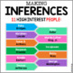 Nonfiction Inferring ~ 11 Mini Passages Influential People