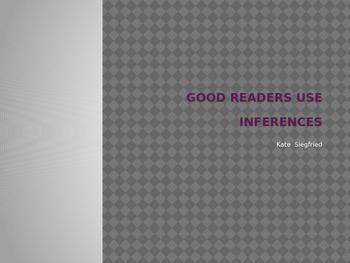 Good Readers Make Inferences