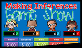Making Inferences - Jeopardy Style Game Show - GC Distance Learning