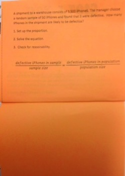 Making Inferences Flip Book Foldable