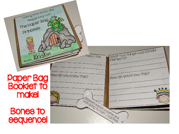 Making Inferences - Paper Bag Booklet