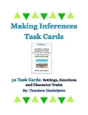 52 Making Inferences Grade 5 Task Cards CCSS RL.5.1 & RI.5.1 *With Answer Key