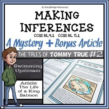 Making Inferences-A Mystery and Article for Reading Comprehension