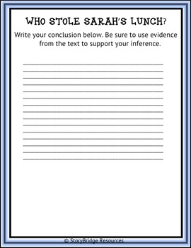 Making Inferences-A Printable & Digital Short Mystery for Reading Comprehension