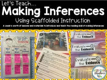 Making Inferences A Scaffolded  Approach to Teaching How to Infer