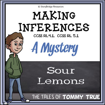 Making Inferences- A Short Mystery Story for Reading Comprehension