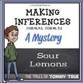 Making Inferences- A Short Mystery Story for Reading Compr