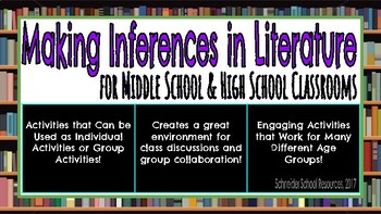 Making Inferences: An Activity for Middle and High School Classrooms