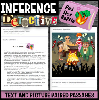 Making Inferences: Inference Detective (Red Hot Raffle Mystery)