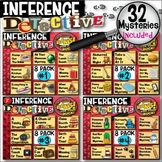 Making Inferences - Analyzing Multiple Texts Mysteries (32-Pack Complete Bundle)