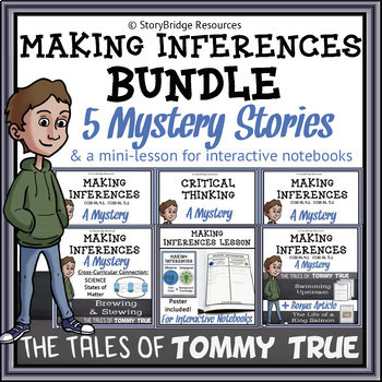 mystery story comprehension
