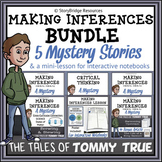 Making Inferences BUNDLE-A Mini-Lesson and 5 Short Mystery