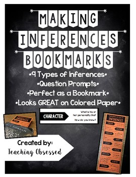 Making Inferences Bookmarks