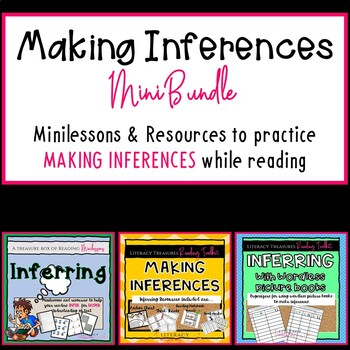 Making Inferences Bundle--Minilessons & Graphic Organizers