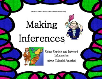 Making Inferences CCSS ELA