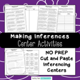 Making Inferences Activities - Inferencing Centers - Cut a