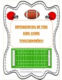 Making Inferences Common Core Standards Activity-Football Theme