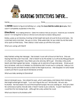 Making Inferences - Creative Teaching Packet