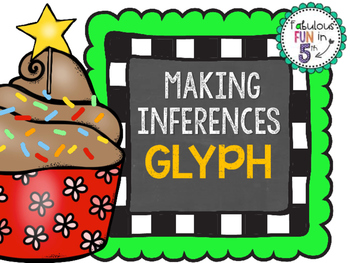 Making Inferences Cupcake Glyph