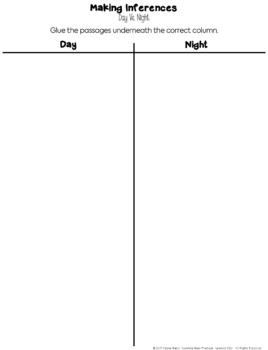 Making Inferences: Daytime or Nighttime?