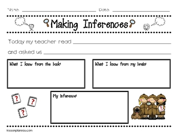 Inferences Being A Detective Teaching Resources Teachers Pay Teachers