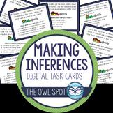 Making Inferences Digital Task Cards Test Prep