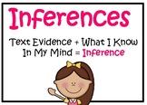 Making Inferences Digital Task Cards: Who Am I?